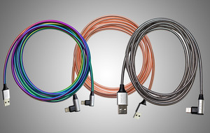 3-Way Blind Steel Charging Cable