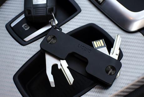 Aluminum Key Holders + Wallets
