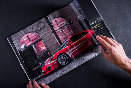 Exotic Cars Collector's Book
