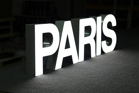Illuminated Marquee Letters