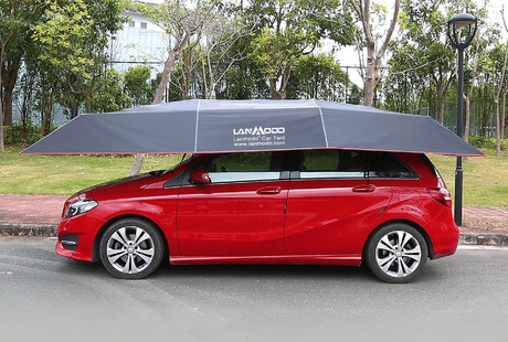 The Wireless Automatic Car Tent