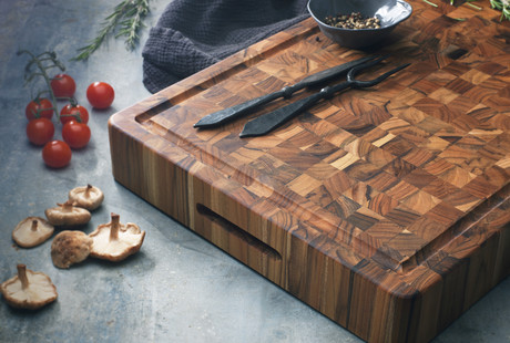 Teak Serving + Cutting Boards