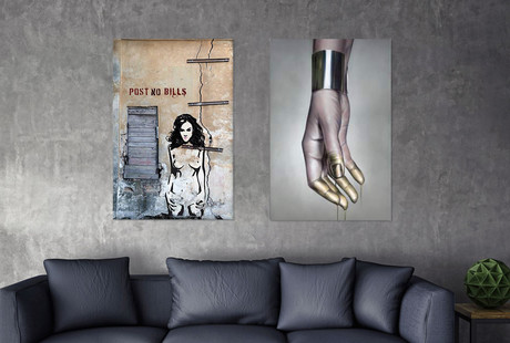 Street Art Inspired Canvas Prints