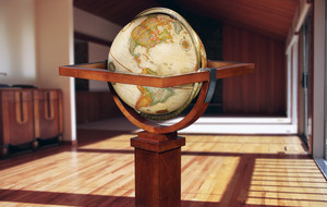 Globes Inspired By Frank Lloyd Wright