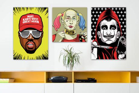 Audacious Pop Art Prints