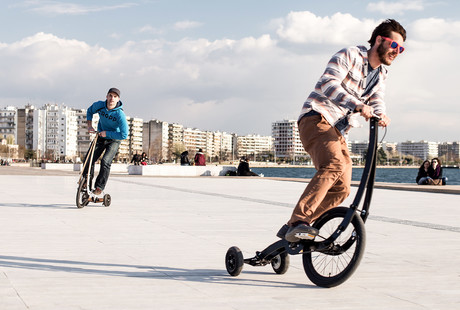The World's First Standing Bike