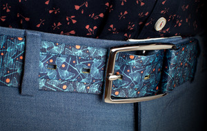 Belts With Hidden Flaps
