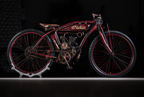 Harley & Indian Tribute Motorbikes