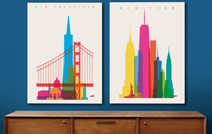 Colorfully Rendered Cityscapes
