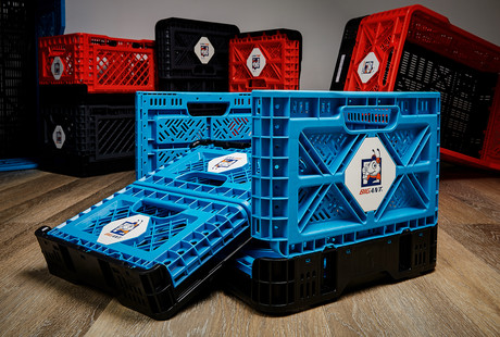 Heavy-Duty Collapsible Crates