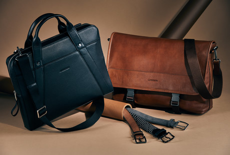 Sleek + Sporty Leather Accessories