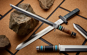 Handcrafted D2 Blades