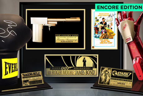 Exclusive Signed Movie & TV Props