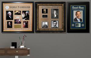 Framed + Signed Displays