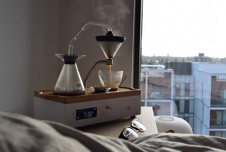 Coffee & Tea Alarm Clock