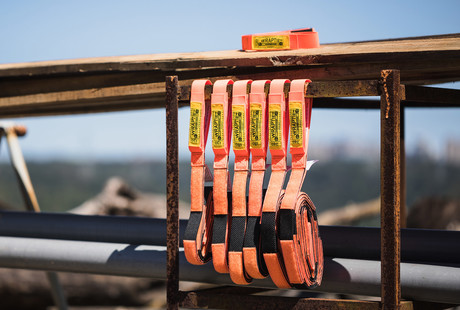 Smart Tie-Down Straps