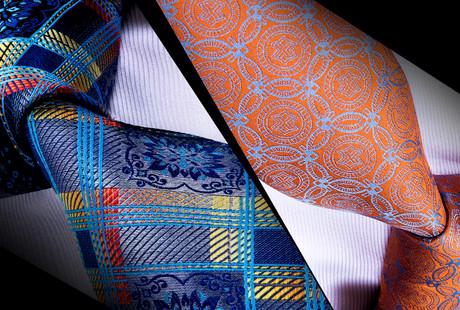 Contemporary Silk Ties