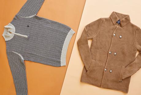 Knitwear + Trousers