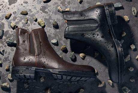 Weatherproof Dress Shoes + Boots