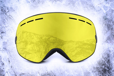 High-Tech Ski Goggles