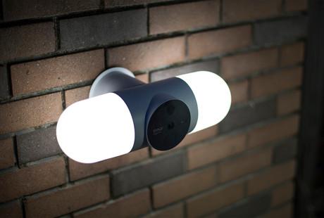 180° Security Camera + Floodlight