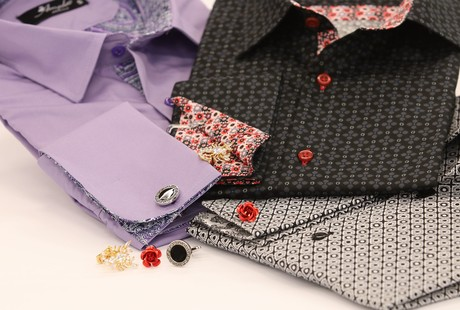 Tailored Dress Shirts + Cufflinks