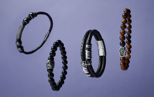 Beaded & Leather Bracelets