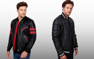 Timeless Leather & Shearling Jackets