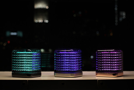 The 3D LED Cube Light