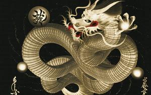 Edo-Inspired Dragon Art