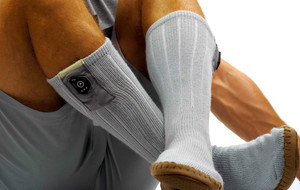 Heated Slippers + Socks