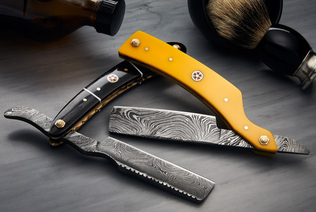 Damascus Steel Razors