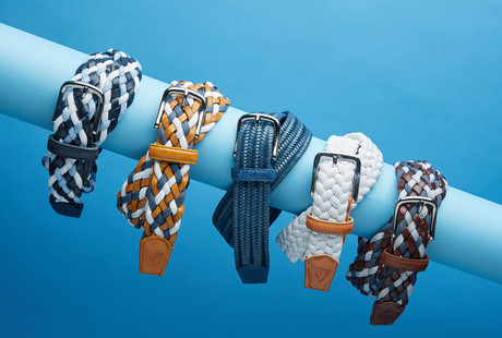 Perfect-Fit Woven Belts