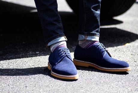 Bold Dress Shoes + Socks