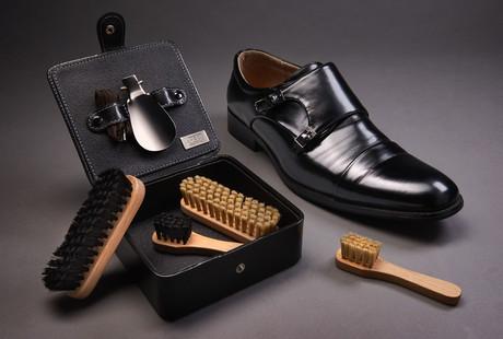 Elegant Leather Shoe Polish Kits