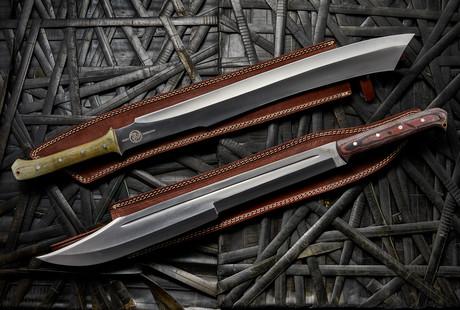 Rugged D2 Swords