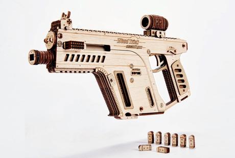 3D Wooden Mechanical Models