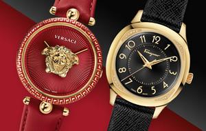 Versace & Ferragamo Ladies Watches