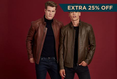 Quality Crafted Leather Jackets