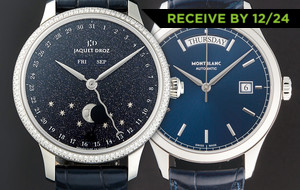 Outstanding Blue Timepieces