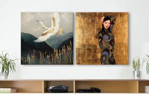 Japanese Inspired Art
