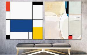 Modern Take on Mondrian