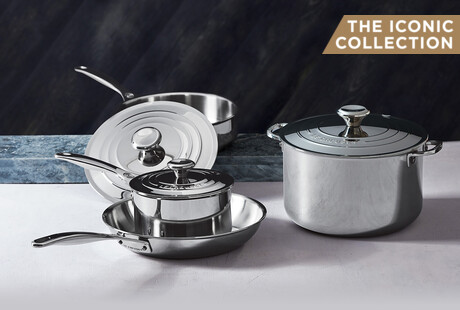 Iconic Stainless Steel Cookware