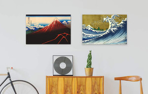 Japanese Inspired Canvas Prints