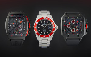 Radiant Red Watches