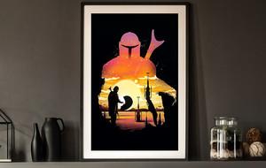 Mandalorian & Star Wars Prints