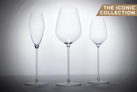 Elegant Crystal Wine Glasses