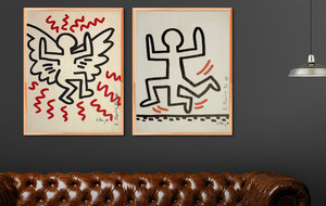Authentic Keith Haring