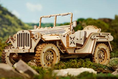 DIY 3D Wooden Models