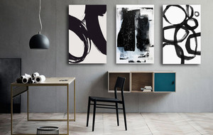 Black & White Abstracts